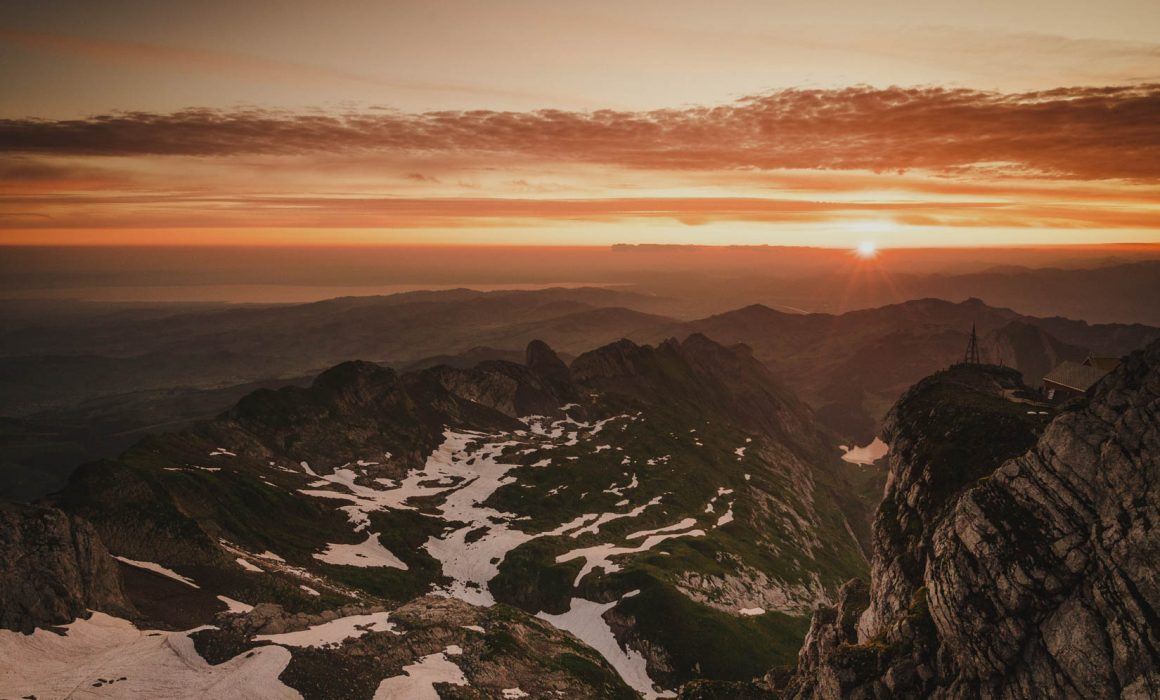 Sonnenaufgangsfahrt Säntis