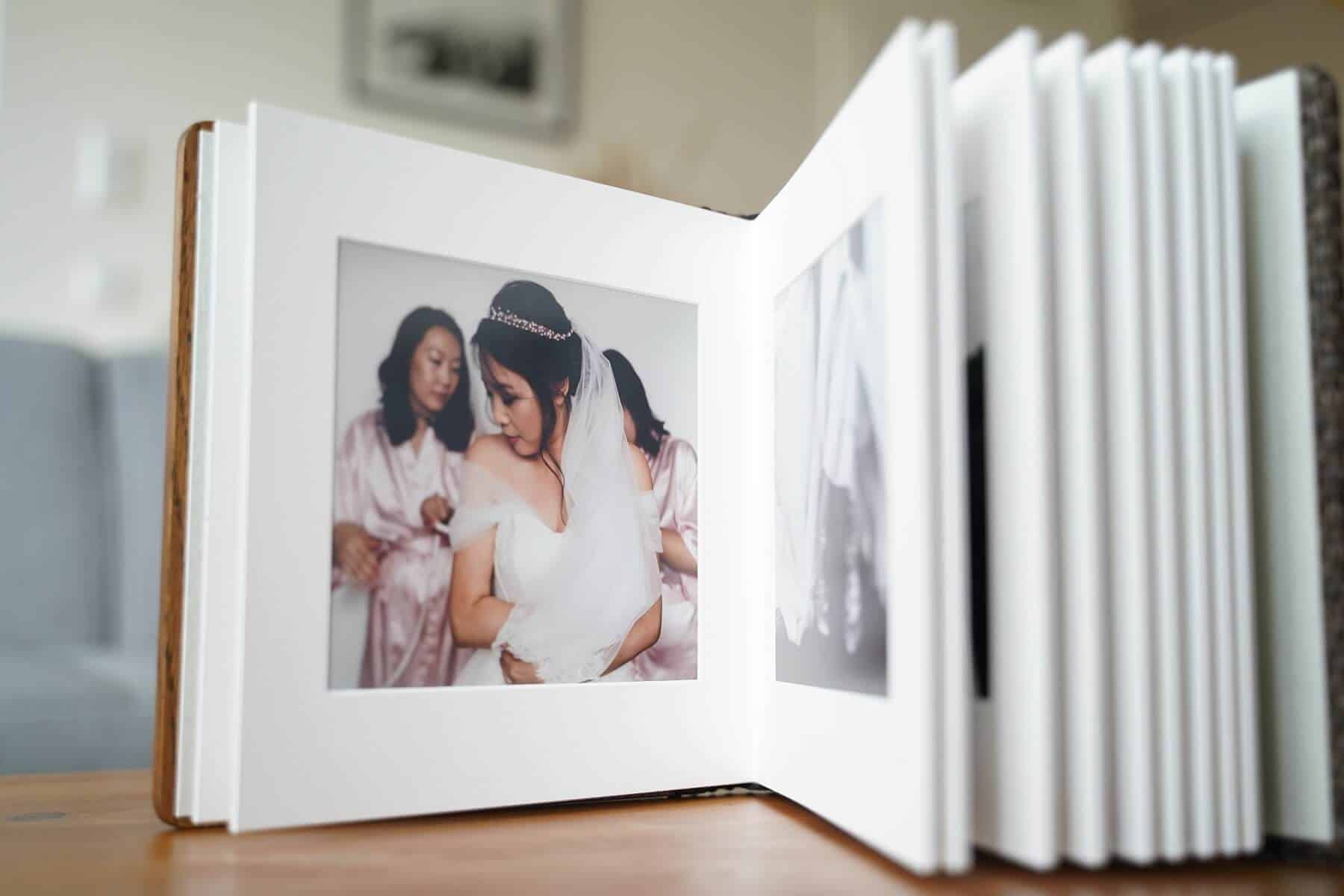 High quality photo albums for emotional memories