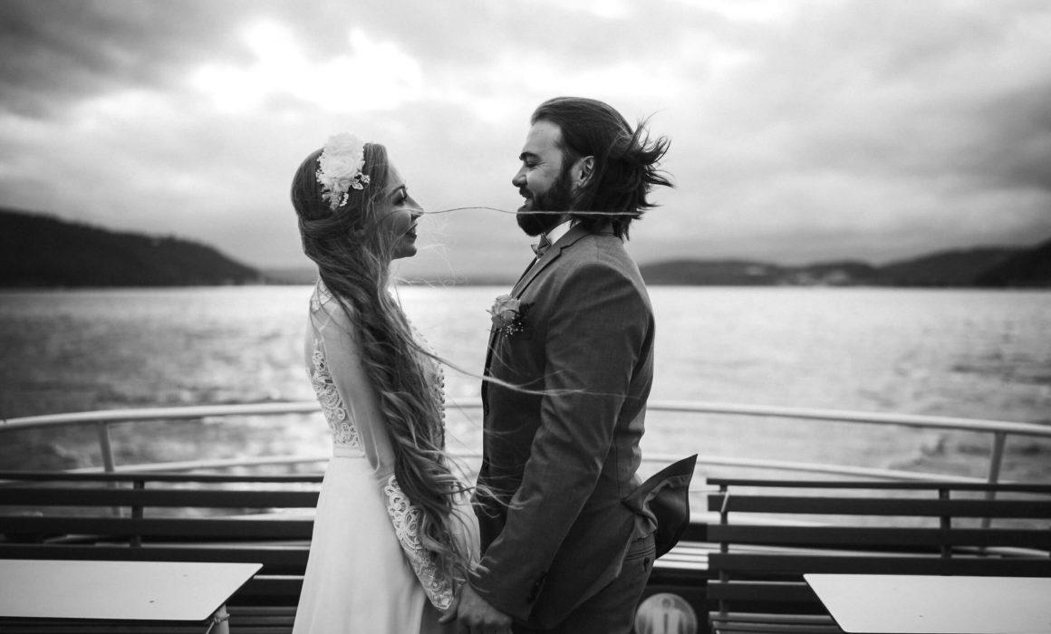 Hochzeit auf der Insel Mainau mit Schiffstour auf dem Bodensee